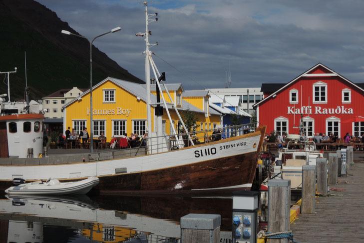 Im Hafen von Siglufjördur
