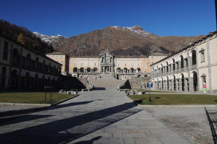 Wallfahrtskirche von Oropa im Piemont