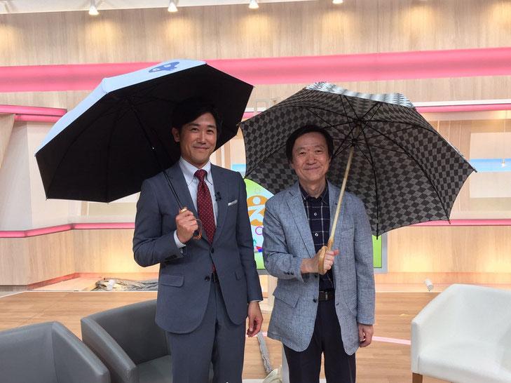 (左)二宮直輝さん (右)宮武和広  NHK大阪にて