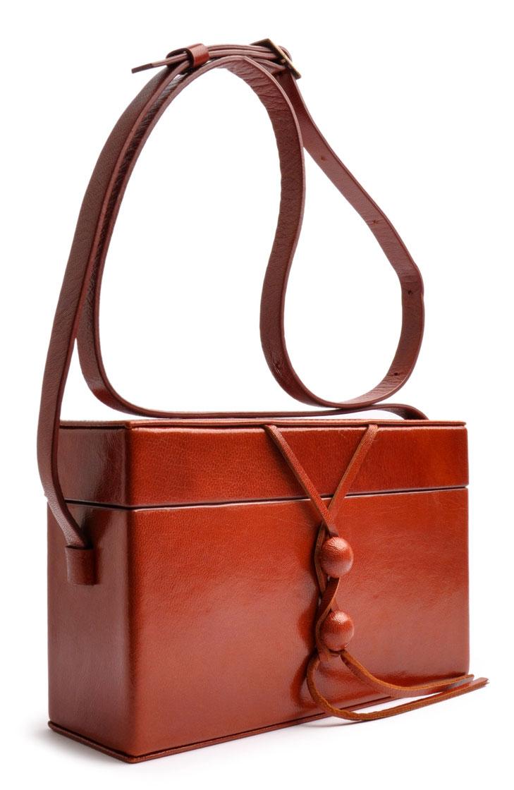 Schultertasche coganc Vintagelook OSTWALD Traditional Craft
