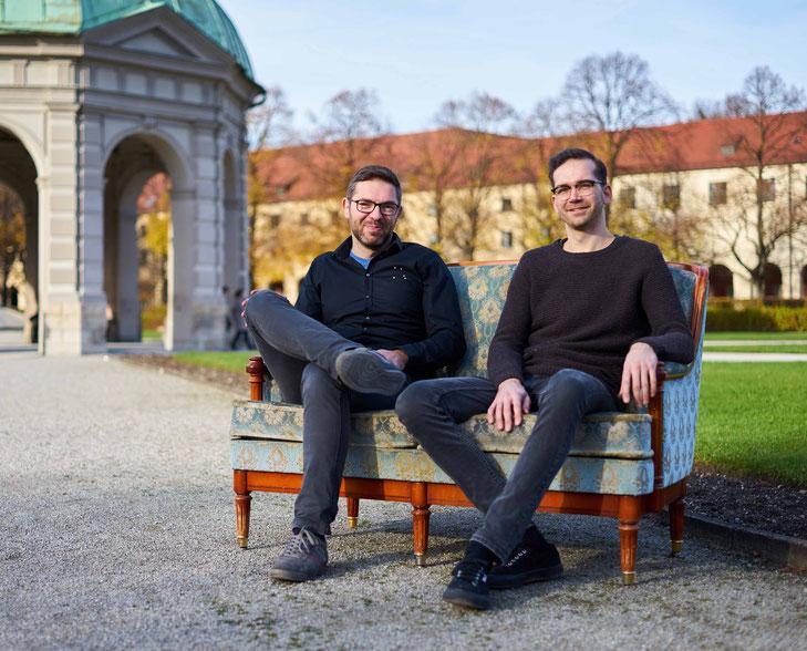 Die Gründer von Cornix Absinth: Ümit Ünsal und Lars Grunenberg