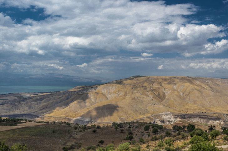Das Hochplateu der annektierten Golanhöhen