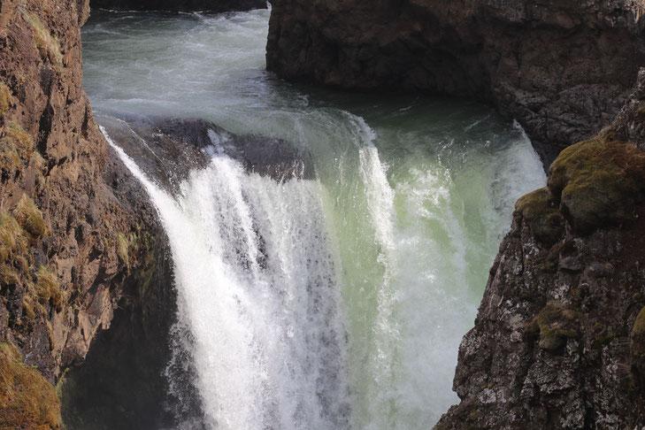 Kolugljufur Canyon mit Wasserfall - Exklusive Islandsrundreise von My own Travel ©My own Travel