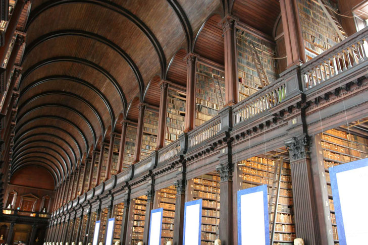 Bibliothek im Trinity College, Dublin