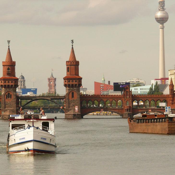 Bootstour auf der Spree in Berlin