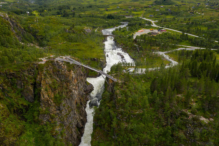 Vøringsfossen ©Nationale Touristenstraßen