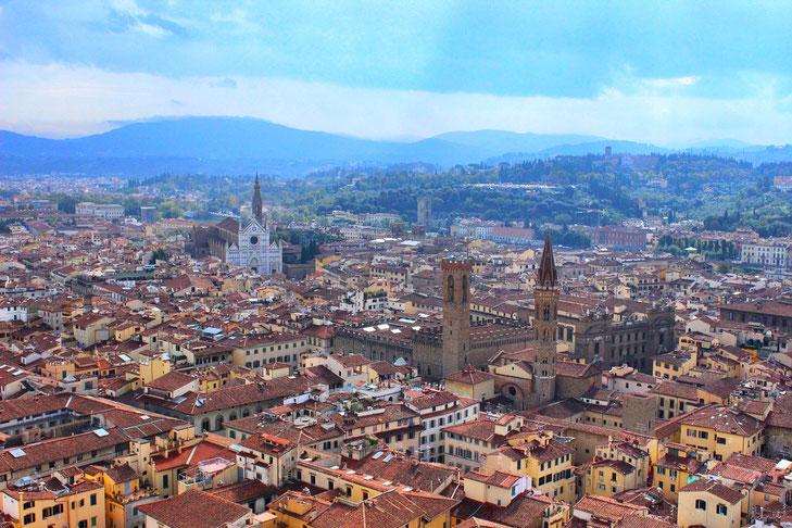 Über den Dächern von Florenz