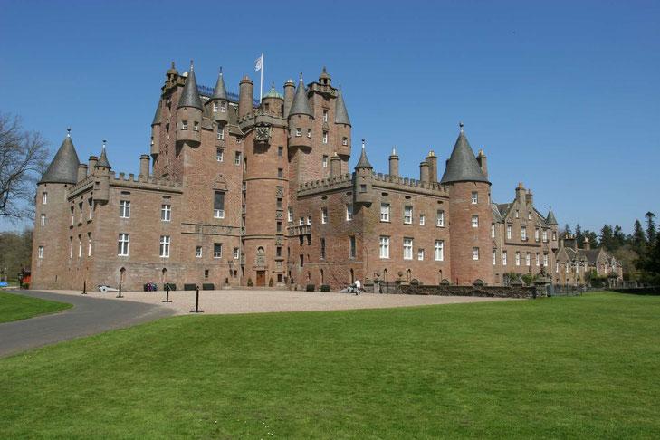 Glamis Castle von außen