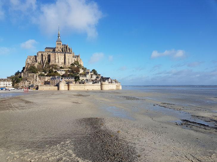 Ansicht des Mont St. Michel