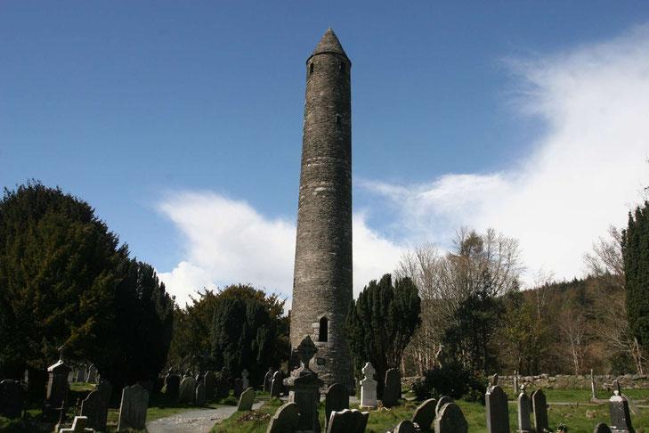 Rundturm in Glendalough