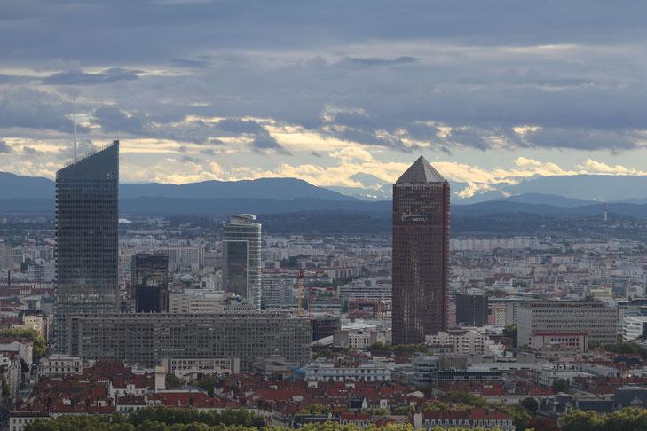 Lyon von oben
