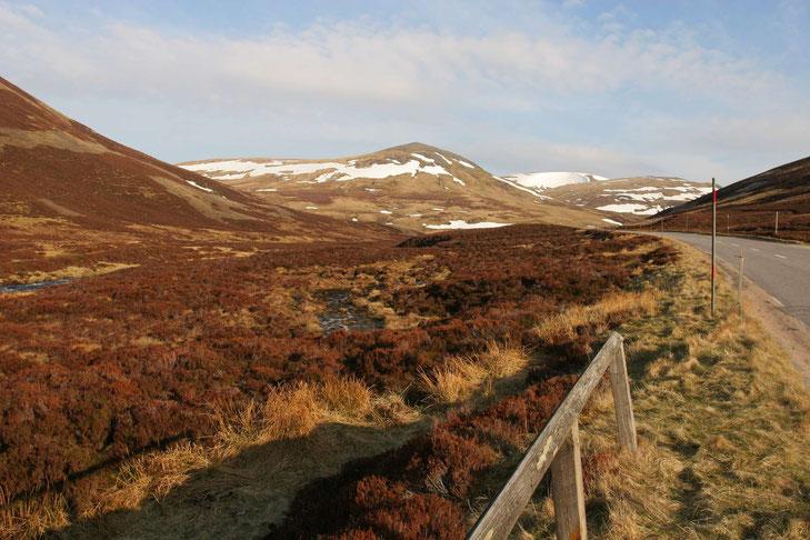 Die eindrucksvolle Landschaft der Highlands