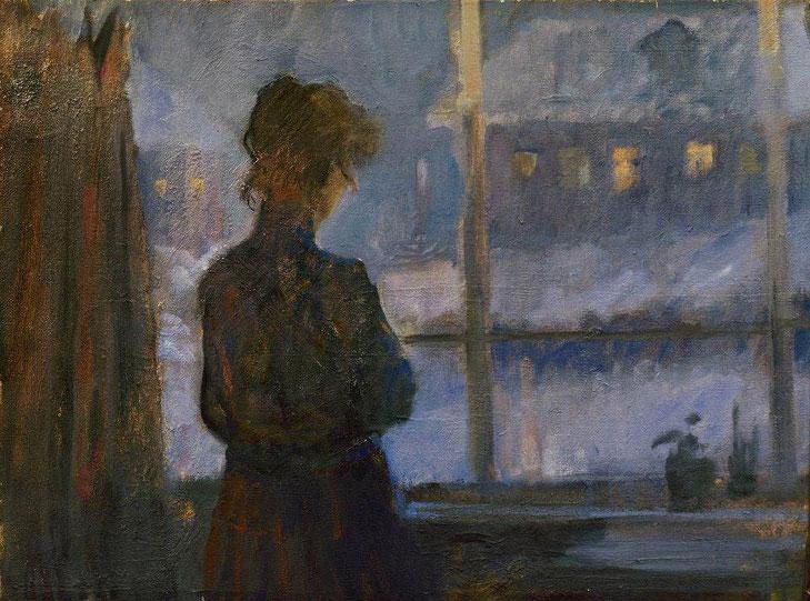 """S. Tutunov, """"L'attesa"""""""