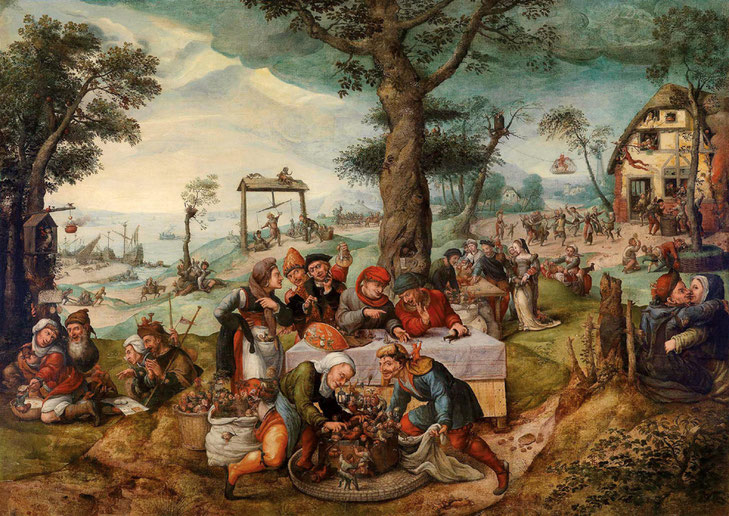 Frans Verbeeck, The Mocking of Human Follies