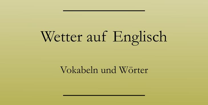 Smalltalk lernen Englisch. Englische Redewendungen zu Wetter und Hobbys. #englischlernen