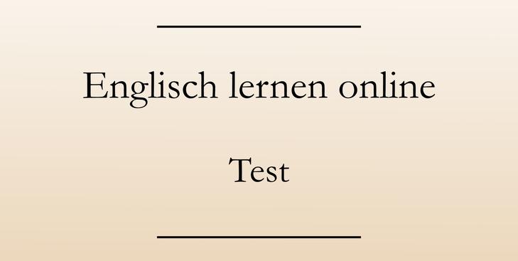 Englisch lernen online: Sprachkurs Test