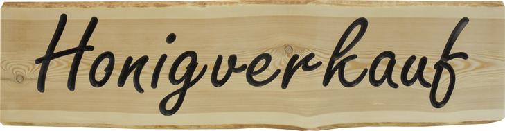 Honigverkauf Holzschild  Imkereibedarf