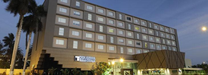 Übernachten in Chiclayo, Unterkünfte in Chiclayo und Hotels in Chiclayo von PERUline