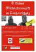 """Plakat von """"8. kleiner Mittelaltermarkt in Norgaardholz"""""""