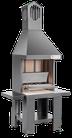 VCKT650 caminetto da esterno in acciaio verniciato