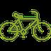 Fahrrad für Erreichbarkeit der Praxis