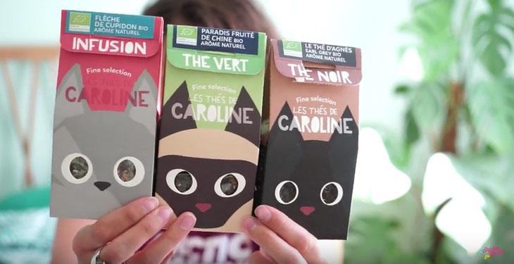 Les thés de caroline : infusions et thés bio par marie