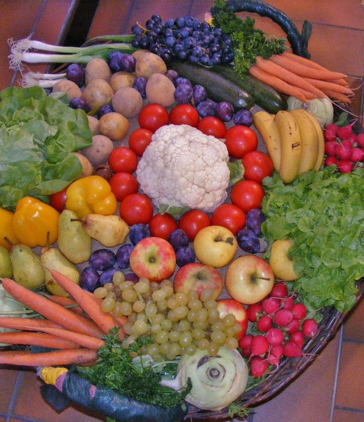 (Gemüsemix) Willst du im Leben glücklich sein, dann solltest Du gärtnern. [Chinesisches Sprichwort] (Foto: Christiane Ziller)