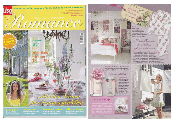 ROMANCE by LISA/BURDA Juni 2014**Himalayan Cristal SaltScrub & DETOX Bath**DUNE ROSE COLLECTION
