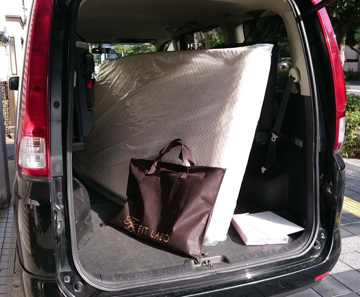 FIT LABO 「オーダーメイド枕」とマニフレックス「モデルローマ」をお届け