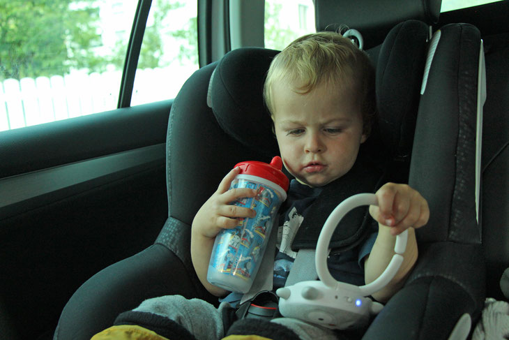 Road trip toddler travel