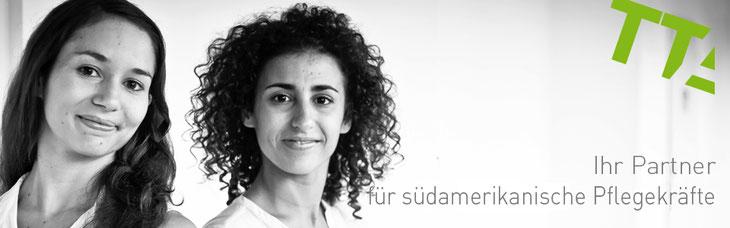 Sudamirikanische Pflegekräfte