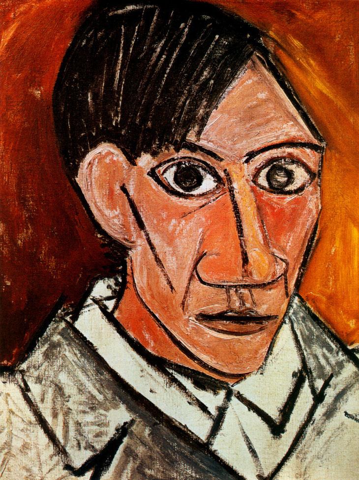 Pablo Picasso - Autoportrait à la mèche - 1907