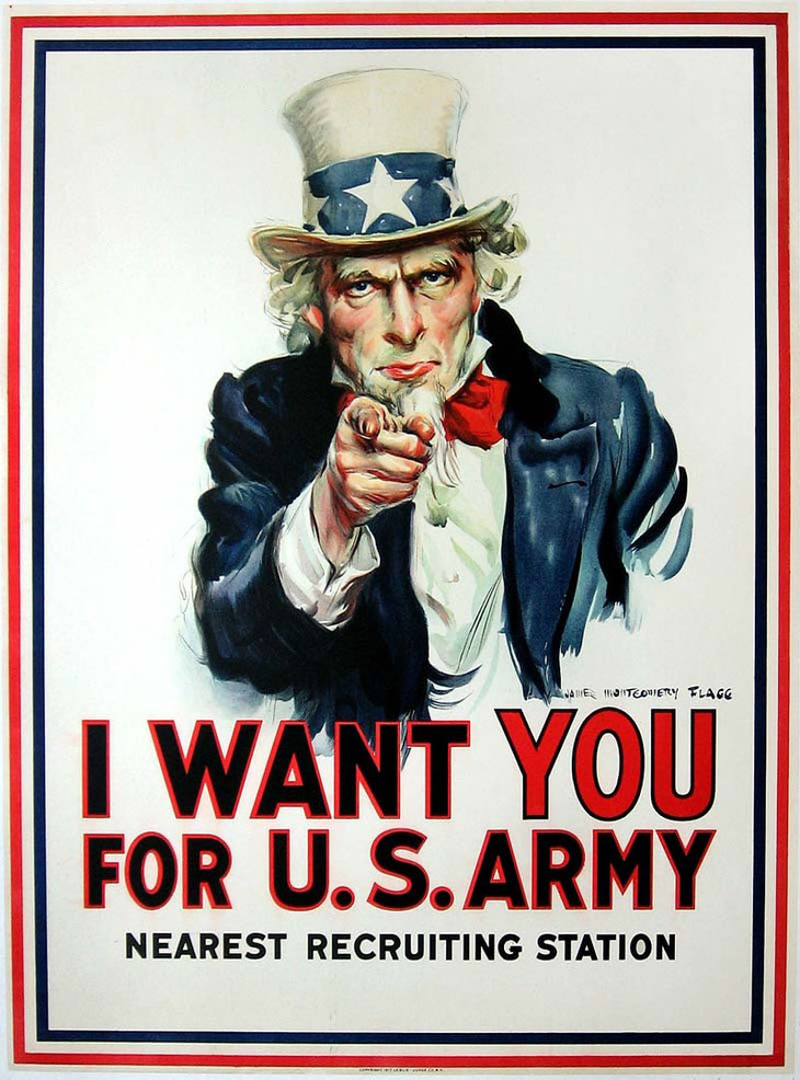 I want you de James Montgomery Flagg