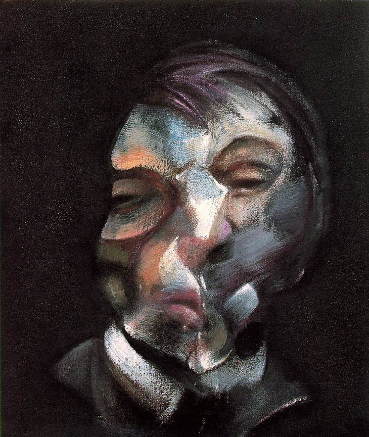 Francis Bacon - 1971 (Autoportrait)