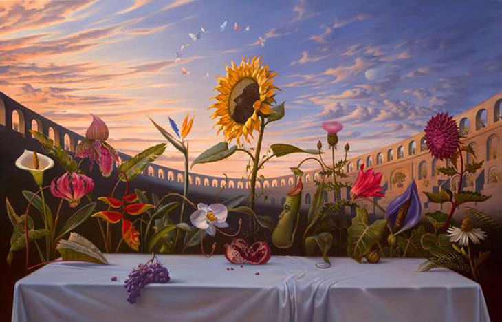 Vladimir Kush, last supper 2009