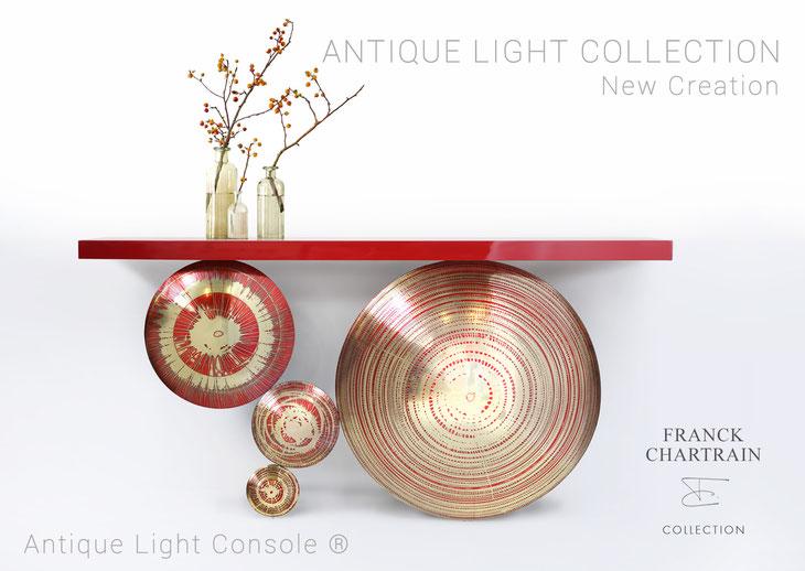 Antique Light Console ® reference al-03 / Console Antique Light ® référence al-03