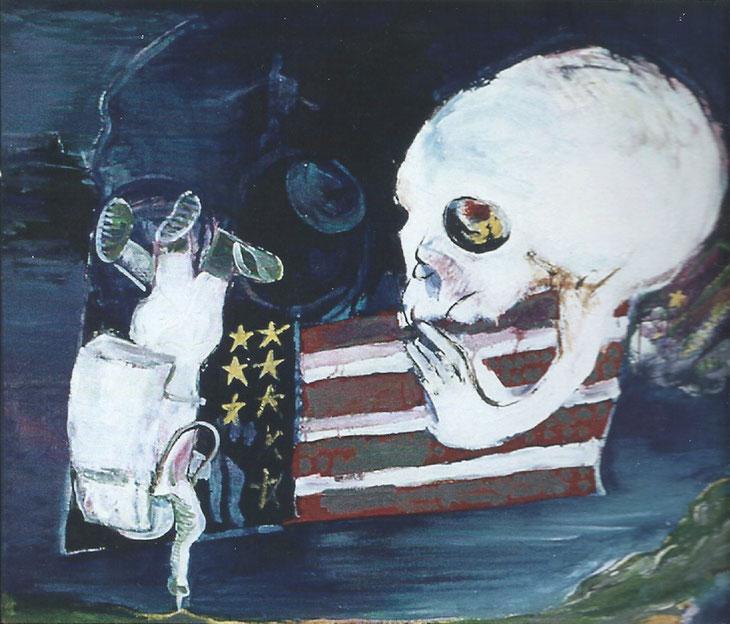 指一本 第23回日本アンデパンダン展 1970年