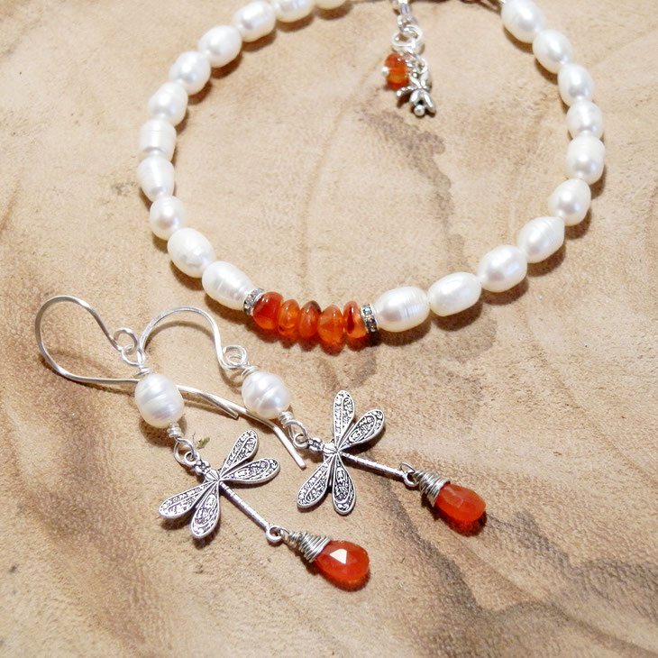 top 10 fantasy sieraden voor Outlander fans armand en oorbellen dragonfly in amber