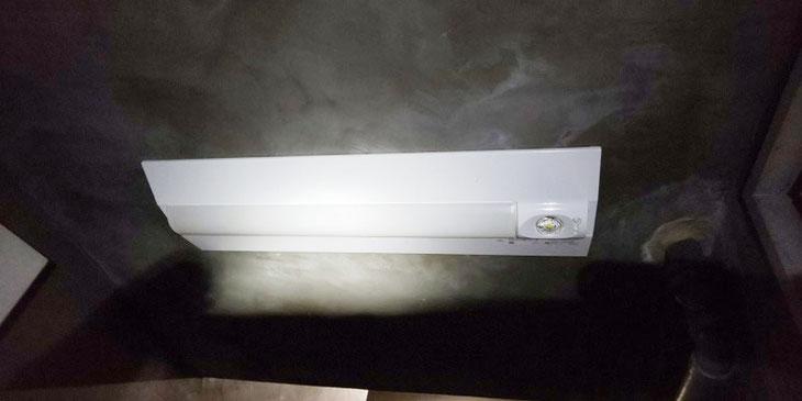 照明器具(非常灯併用型蛍光灯)