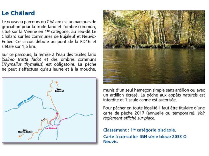 Source : Guide 2017 de la Fédération de pêche de la Haute-Vienne