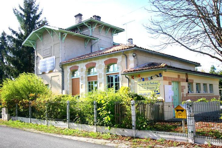 L'école d'Haureuils est la plus vieille du Barp/Crédit photo: Mairie du Barp