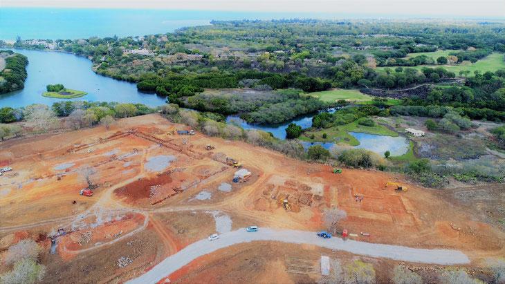 Debut de construction des villas AKASHA - Villa Numéro 4 en cours !