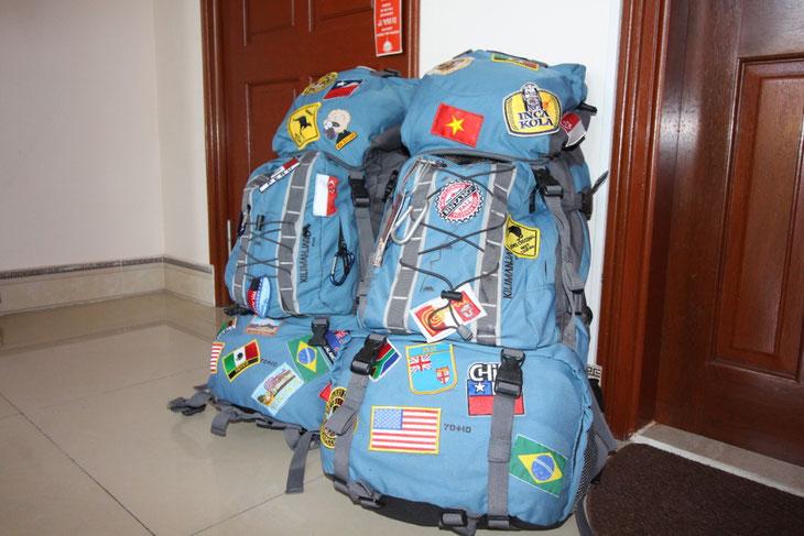 Packliste Handgepäck Weltreise was nehme ich mit Packhilfen Packtipps Backpack Reiserucksack Backpacking