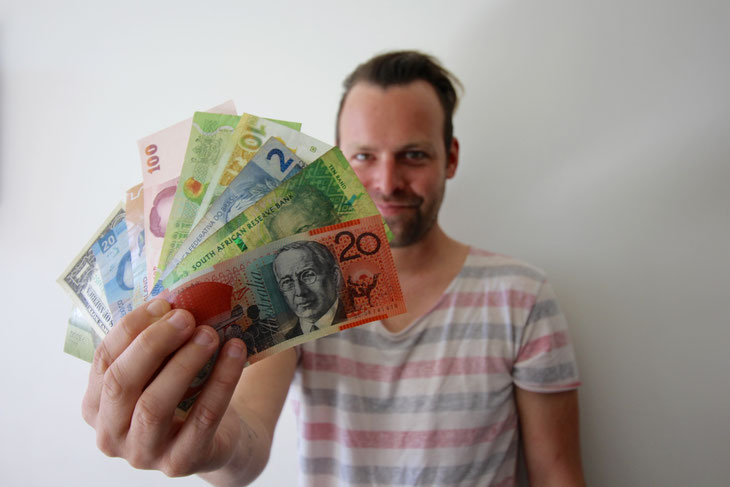 Kostenplanung für eine Weltreise Wieviel Geld brauche ich für eine Reise um die Welt Weltreisebudget Weltreisekosten