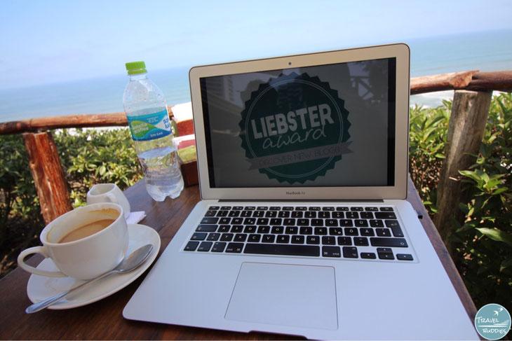 Weltreise Reiseblog Liebster Award Blogger Reiseberichte Reisen Fragen beantworten Nominierungen Digitale Nomaden