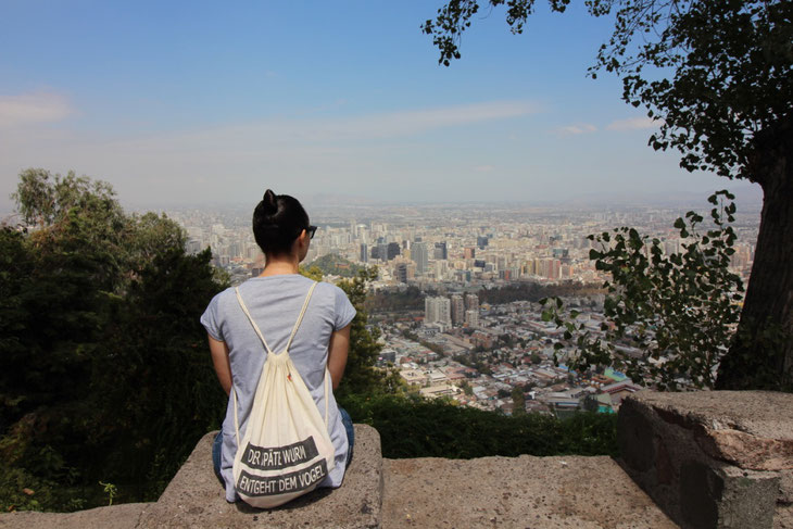 Weltreise Reisen Chile Südamerika Santiago de Chile Reiseblog Blog Reisetipps Cerro San Christopal
