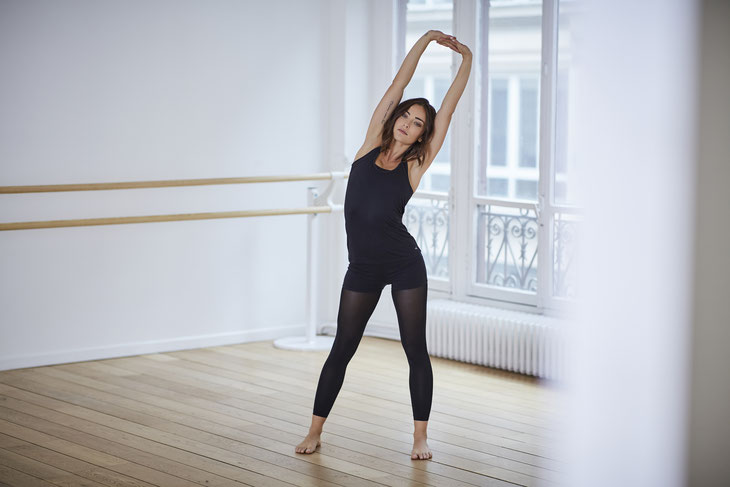 Danse by Decathlon // Photographe : Grégory Chris // Danseuse : Inés Vandame