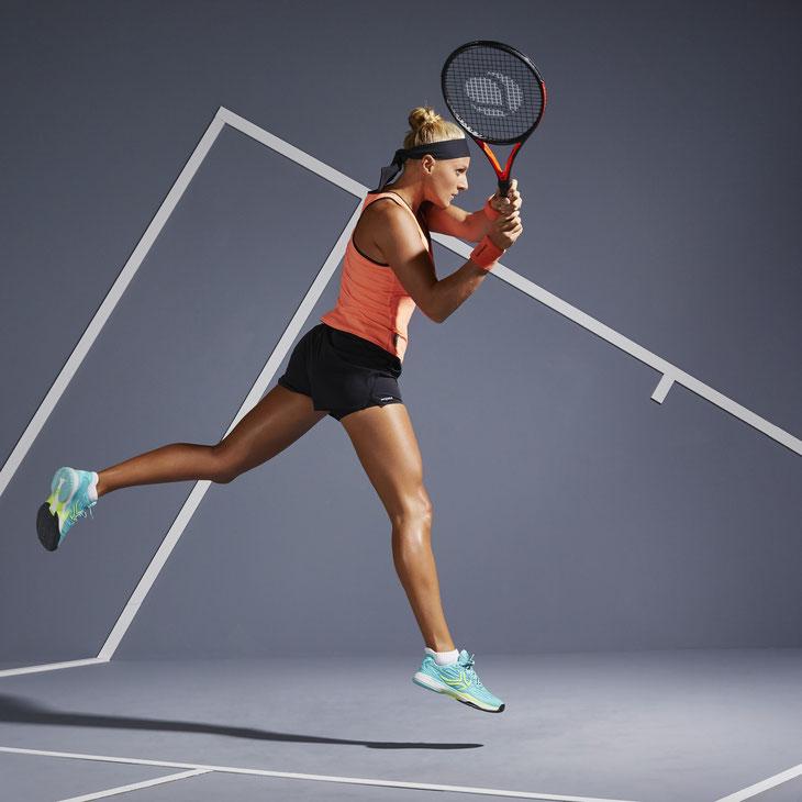 Artengo // Phorographe : Cédric Dubus // Tennis woman : Mallaurie