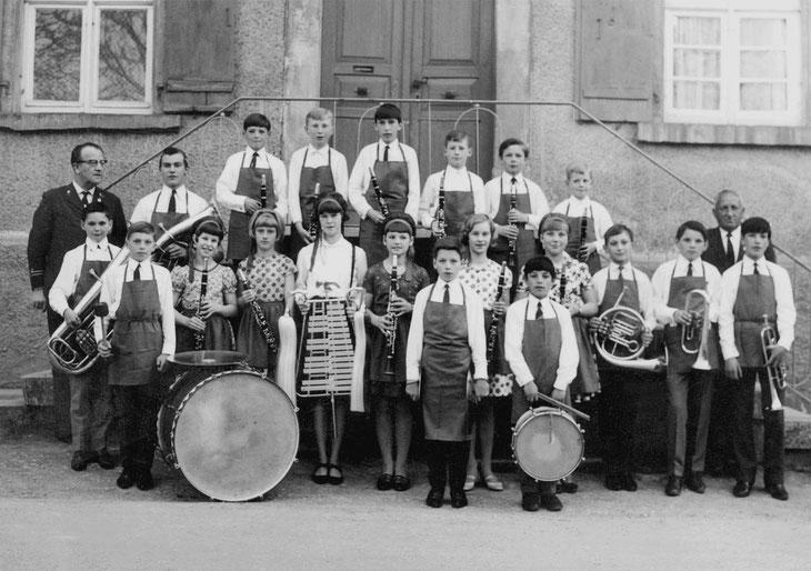 Musikverein Lautern, Jugendkapelle 1967