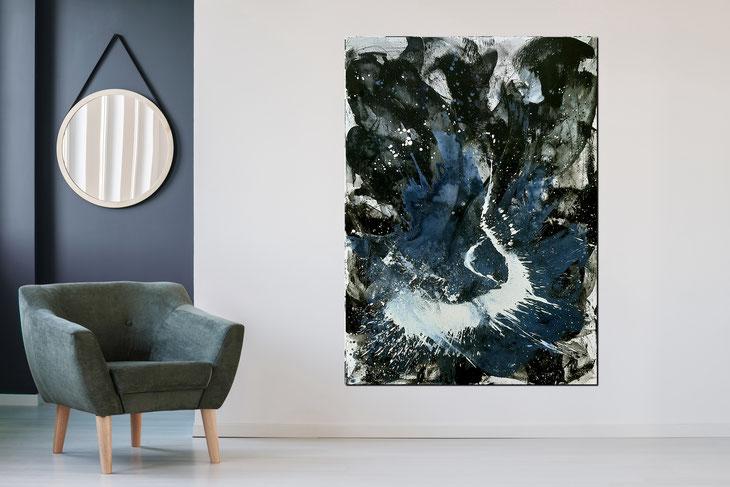 180 x 120 cm Eingebung 2